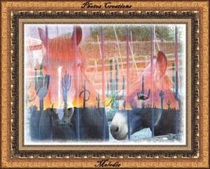 cheval-et-ane-enc-marron-photos-crea-melodie-300x242 dans Photos Créations